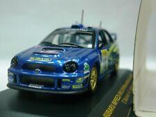 WOW EXTREMELY RARE Subaru Impreza 2002 S7 Makinen 1st M.Carlo WRC 1:43 Ixo-HPI
