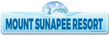 Mount Sunapee Resort Street Sign | Snowboarder, D�cor for Ski Lodge, Cabin