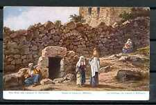 Israel A05 Postcard mint pre 1930 Grave of Lazarus Bethany Palestine