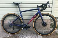 New Specialized S-Works Tarmac SL6 Disc (54cm), Dura-Ace/Ultegra Di2, Roval CLX