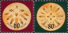 Iceland 2007 Christmas/Greetings/Leaf Bread/Food/Tradition 2v s/a set (is1055)