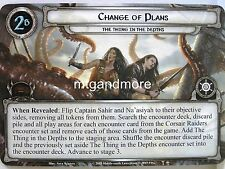 Lord of the Rings LCG  - 1x Change of Plans  #040 - The Thing in the Depths