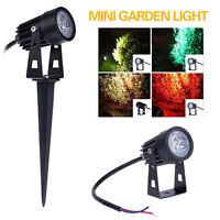 Waterproof 3W Mini Led Outdoor Path Landscape Lawn Garden Yard Flood Lamp Light