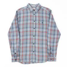VGC Vintage WRANGLER Blue Check Shirt | Mens M | Cowboy Western Plaid Retro