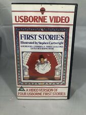 Usborne Video First Stories / Fairy Tales VHS