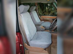 LAND ROVER DISCOVERY 1 1989-1998 REAR SEAT WATERPROOF SEAT COVERS SET SAND COLOR