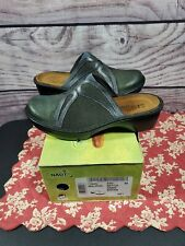 New! NAOT Womens Moldova Leather Iridescent Slip on Clog Mule Shoes 39