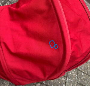Quinny Buzz Genuine Red hood Spare replacement Large Extendable