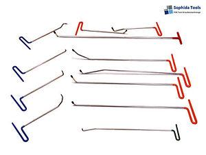 Ausbeulwerkzeuge Set PDR Ausbeulset Dellenwerkzeuge (12 teilig)