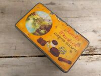 Collectable Rare Vintage c1930's Jacob's Warwick Assorted Biscuits Tin