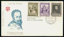 Mayfairstamps Vatican FDC 1964 Michelangelo Paintings Combo First Day Cover wwe_