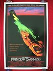PRINCE OF DARKNESS * 1987 ORIGINAL MOVIE POSTER 1SH JOHN CARPENTER'S HALLOWEEN