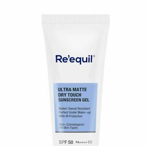 RE' EQUIL Ultra Matte Dry Touch SPF 50 Sunscreen Gel