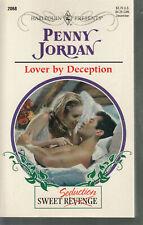 Jordan, Penny - Lover By Deception - Harlequin Presents - # 2068