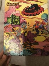 Mattel Golden Masters of the Universe 200 piece He-man puzzle1985