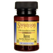 SWANSON ULTRA BORON FROM ALBION BOROGANIC GLYCINE 6mg x 60 CAPSULES