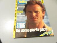 Revista Todo N° 2 Febrero 1991 Música Sting ,U2, Sabrina, Pino Daniele Etc