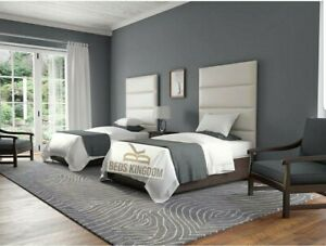 Custom Upholstered Wall Mounted Headboard / Panels Make Your Own Size Made In UK