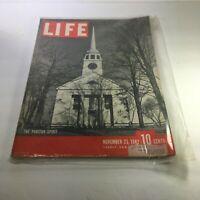 Life Magazine: Nov 23 1942 - The Puritan Spirit