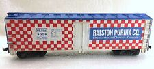 HO TRAIN CAR - RALSTON PURINA CO- M.R.S 4554- TYCO 355E