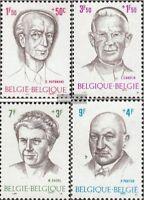 Belgien 1613-1616 (kompl.Ausg.) postfrisch 1970 Persönlichkeiten
