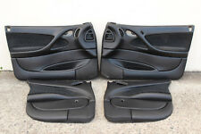 VGC: GENUINE GM VY VZ CREWMAN FRONT & REAR DOOR TRIMS - BLACK - V8 V6