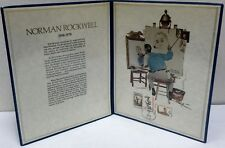 Norman Rockwell Memorial Tribute Portfolio, 1979 Postal Commemorative Society