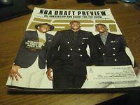 Jabari Parker / Joel Embiid / Andrew Wiggins ESPN Magazine June 2014 ISSUE
