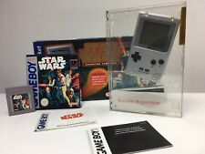 RARE NINTENDO GAMEBOY Pocket Silver PACK STARWARS  v. AUS (MINT)