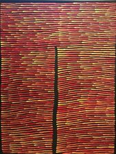 Aboriginal painting senior artist Ronnie Tjampitjinpa Papunya Australian Art