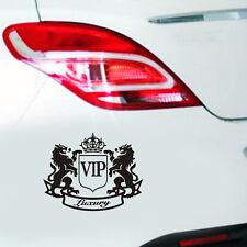 1pc Black VIP The Lion Funny Cartoon Car Body Bumper Window Laptop Sticker ba