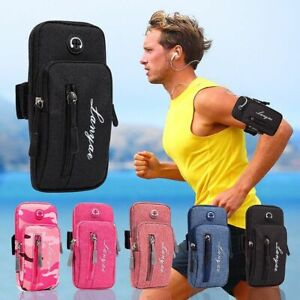 Armband Phone Bag Sports Case Money Keys Pouch Running Men Women Outdoor Gym