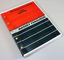 MASSEY FERGUSON 1150 TRACTOR LOADER BACKHOE SERVICE REPAIR WORKSHOP MANUAL