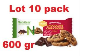 NUTRILESS BAR WITH SOY CHIPS, OAT FLAKES AND CHOCOLA 12 vitamins and 11 minerals