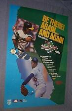 Original 1988 WORLD SERIES Dodgers A's Orel Hershiser