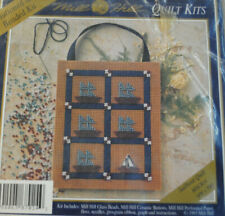 """Mill Hill Button & Beaded Counted Cross Stitch Kit """"Sailboat Quilt"""" NEW~OOP~1993"""