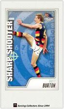 2009 AFL Herald Sun Cards Sharp Shooters Subset SS1 Brett Buron (Adel)