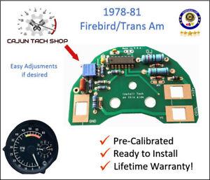 76-81 Pontiac Firebird, TRANS AM, Tachometer Circuit Board - 6K TACH NEW!
