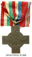 """Croce Armata degli Altipiani Ia Guerra Mondiale produttore S.J. """"3668"""""""