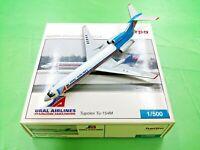 Herpa Wings 1:500 500265 URAL AIRLINES TU-154M RA-85844 - Diecast Aircraft Model