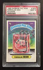 1986 Garbage Pail Kids OS4 Formalde Heidi 160b PSA 9 MINT RARE CARD! TWT