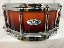 "Pearl Free Floating 14"" Dia. X 6.5"" Deep Maple Snare Drum/Chestnut Fade/259/New"