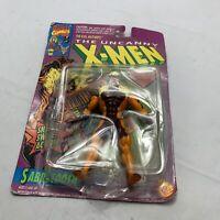 Uncanny X-Men Sabretooth Action Figure, Marvel Comics 1992 Toy Biz 2nd Series