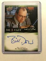 2019 Upper Deck X-Files UFOs and Aliens Auto card A-BD Bill Dow as Charles Burks
