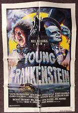 YOUNG FRANKENSTEIN Original One Sheet Movie Poster 27x41 Style B Mel Brooks