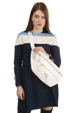 RRP€1100 MAISON MARGIELA Leather Crossbody Bag Patent Panel Zipped Made in Italy