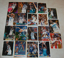 Larry Johnson 19 Different Basketball Cards Hornets, Knicks Free Shipping!