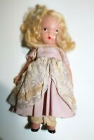"Vintage Nancy Ann Storybook 5 1/2"" Bisque Doll"