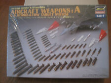 HASEGAWA AIRCRAFT WEAPONS::A 1/48 NEUF SOUS FILM  KIT MAQUETTE DIORAMA