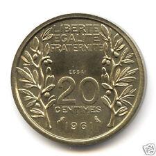 Ve REPUBLIQUE CONCOURS ESSAI DU 20 CENTIMES LAGRIFFOUL 1961